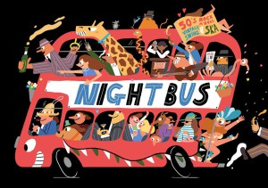 Mr Wolfs The Night Bus